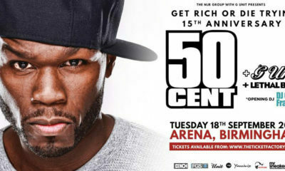 50 Cent prepares for sold-out show in Manchester