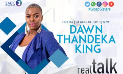 Uzalo's MaNgcobo, a.k.a Dawn Thandeka King to appear on Real Talk On 3