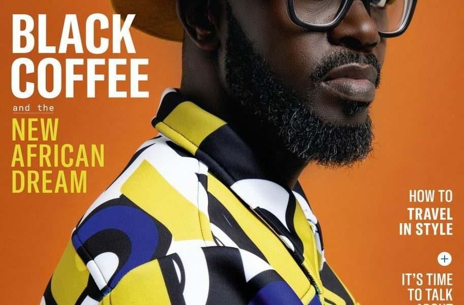 DJ Black Coffee covers the October issue of GQ