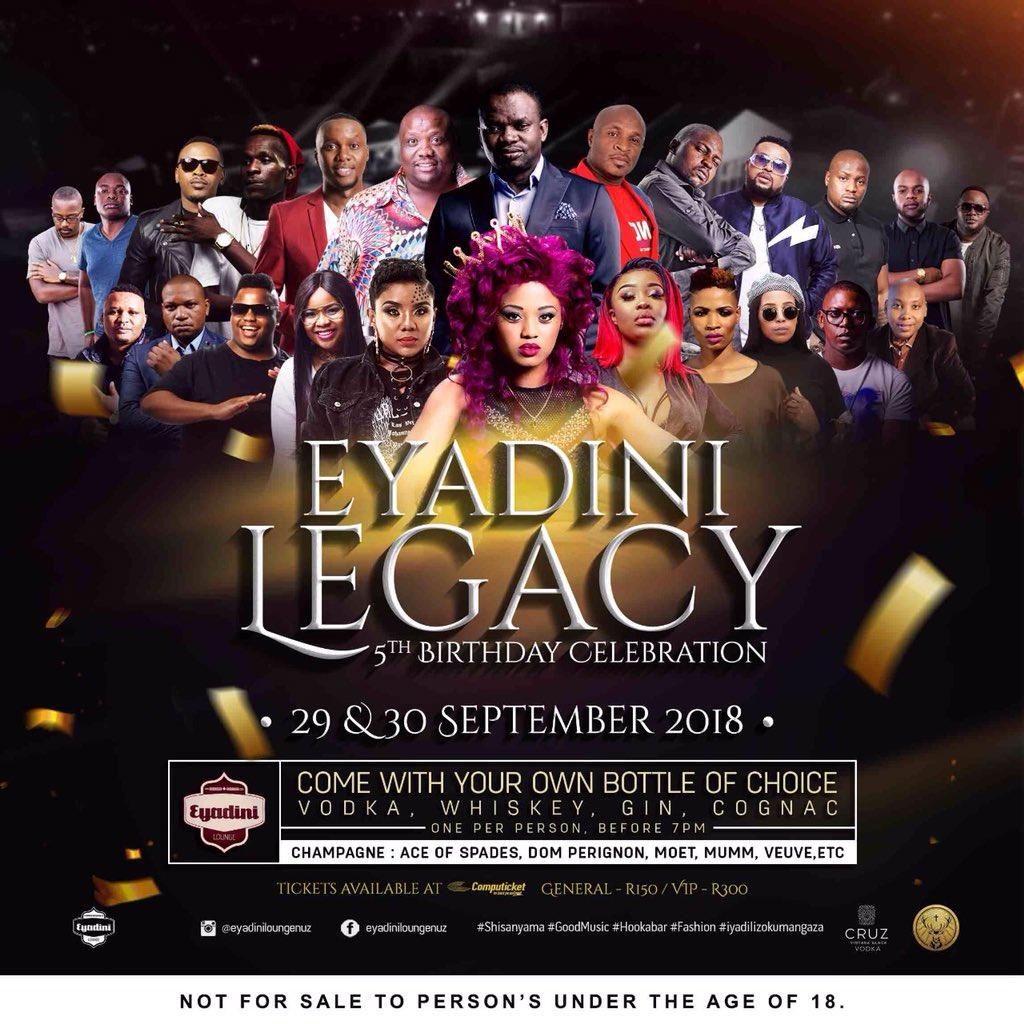 Eyadini Lounge to host fifth birthday celebration