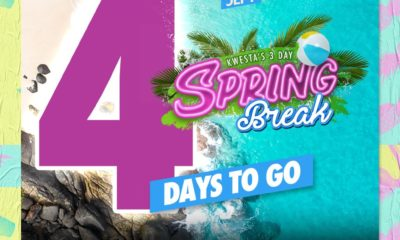 Kwesta gears up to host his 3-Day Spring Break this weekend