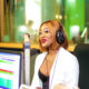 Lorna Maseko prepares for the Delicious Food and Music Festival