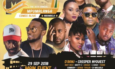 The 10th annual Mpumalanga Comes Alive Festival is happening this weekend