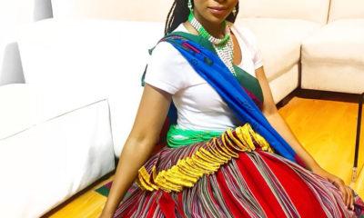Pearl Modiadie celebrates her Tsonga heritage