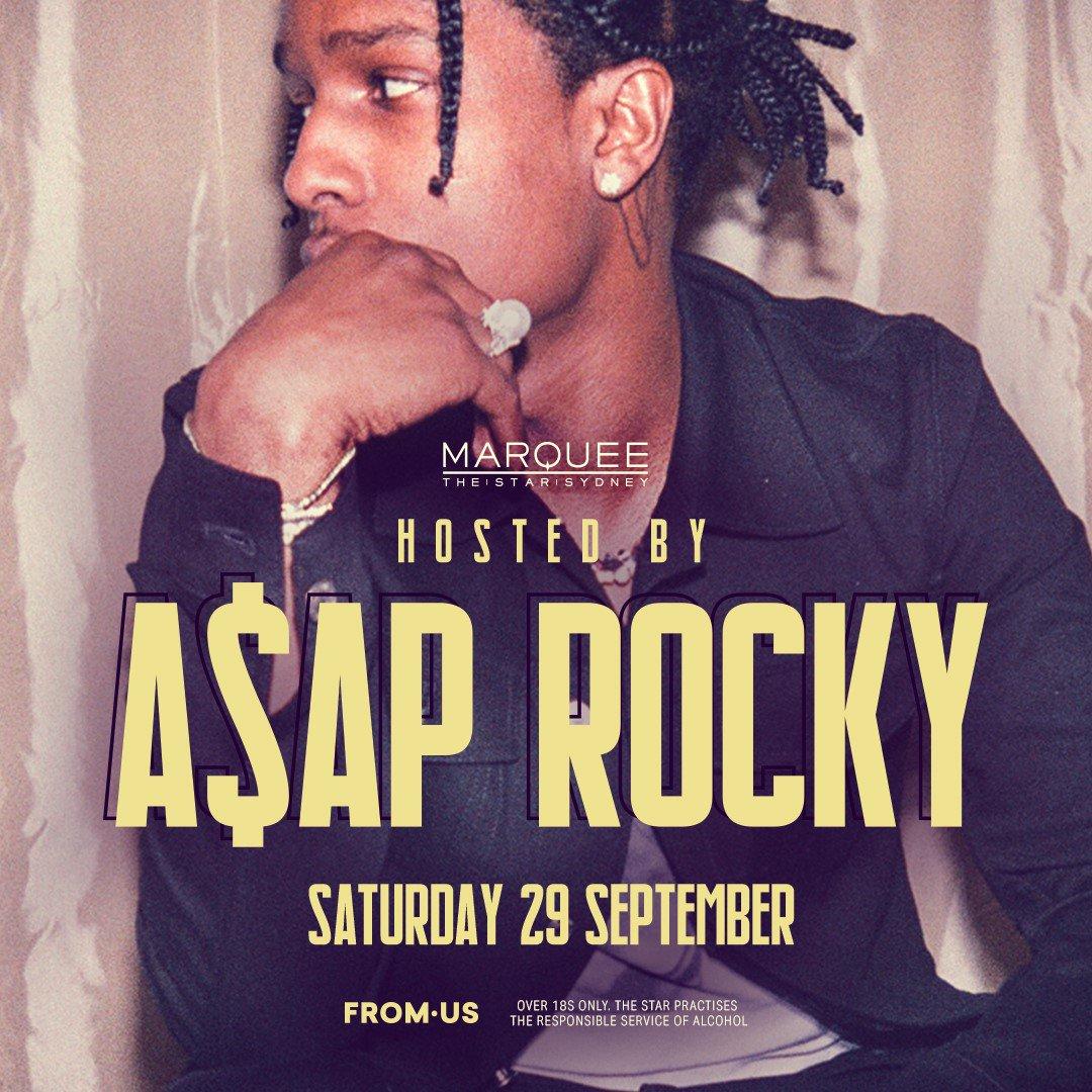 Sydney nightclub Marquee to host A$AP Rocky