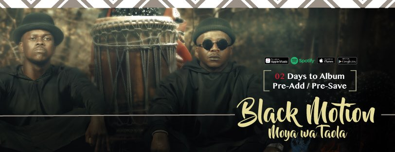 Black Motion to release new album on Friday