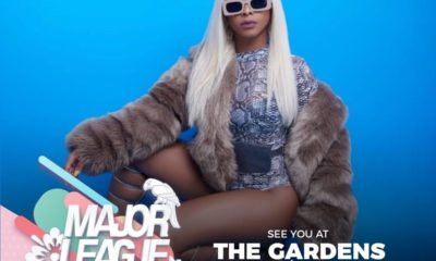 Boity to perform at the Major League Gardens Festival