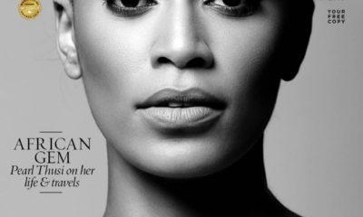 Pearl Thusi graces the cover of SAWUBONA Magazine
