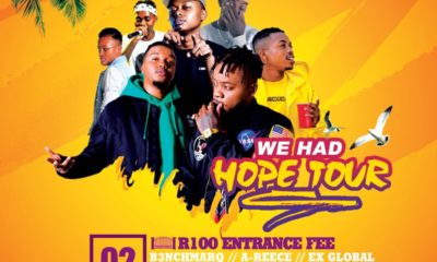 B3nchmarQ to embark on We Had Hope tour
