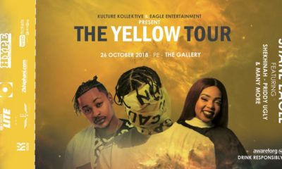 Shekinah and Priddy Ugly to join Shane Eagle on tour