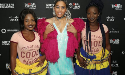 Sho Madjozi represents South Africa at the Global Citizen Festival New York