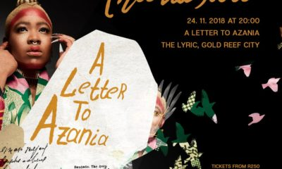 Thandiswa Mazwai gears up for her once-off show, A Letter To Azania