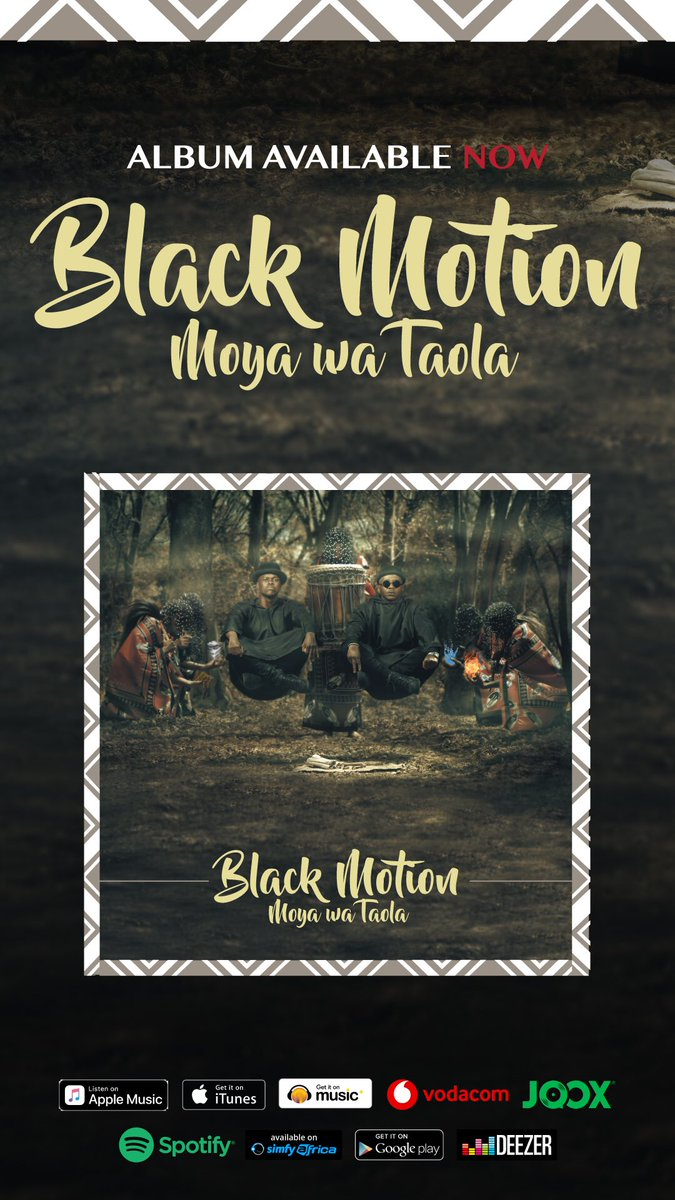 Listen to Black Motion's latest album, Moya Wa Taola