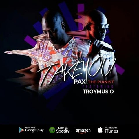 Listen to Pax the Pianist's 'Take You,' featuring Troy musiq