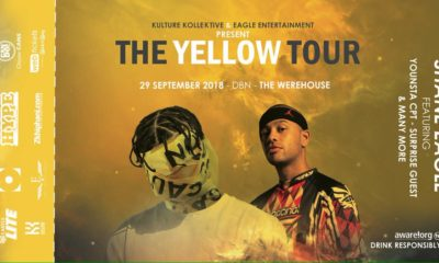 Shane Eagle adds an extra date to his Yellow Tour