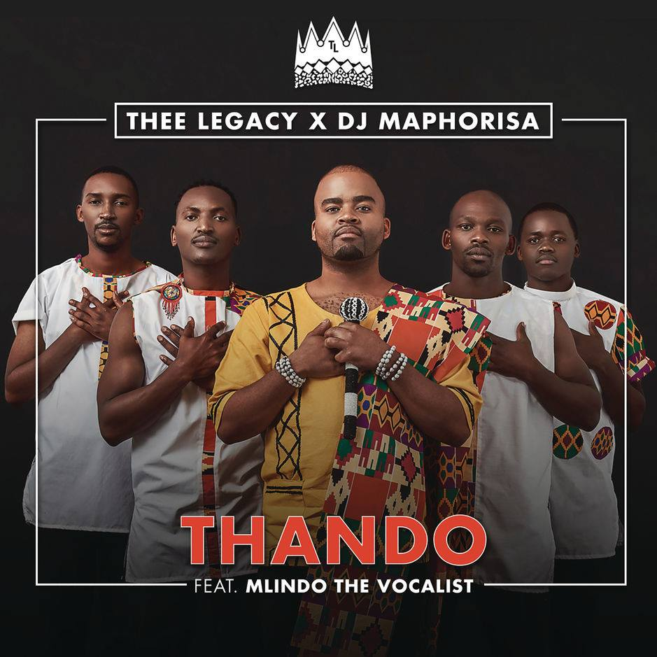 Listen to Thee Legacy and DJ Maphorisa's 'Thando,' featuring Mlindo The Vocalist