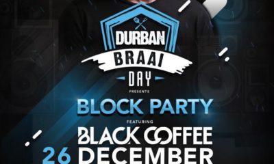 Black Coffee to headline Block Party at Moses Mabhida Stadium