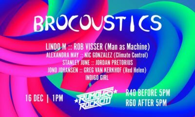 Brocoustics music event to take place at Rumours Rock City in Johannesburg