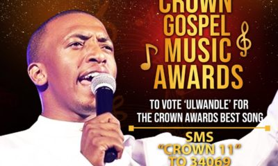 Dumi Mkokstad's 'Ulwandle' named Best Gospel Song Of The Year at the Crown Gospel Awards