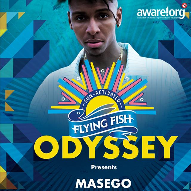 Masego to headline Flying Fish Odyssey this Sunday, 25 November 2018