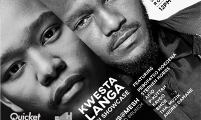 Kwesta and Langa Mavusa to headline MOTUS@MESH