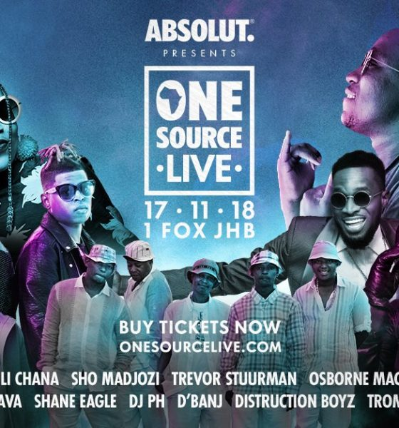 One Source Live music festival takes place this coming Saturday, 17 November 2018