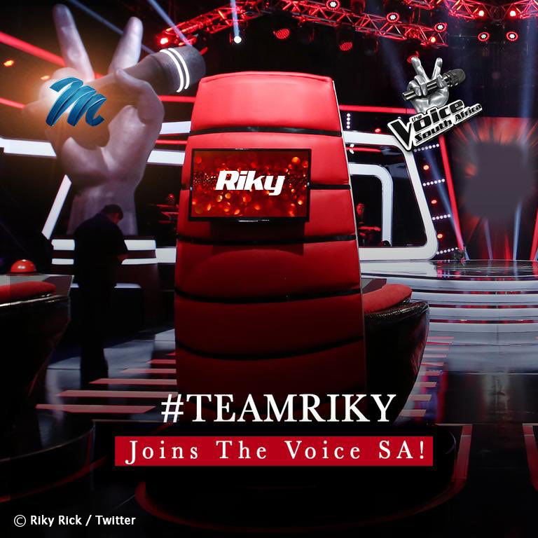 Riky Rick announced as one of The Voice SA judges