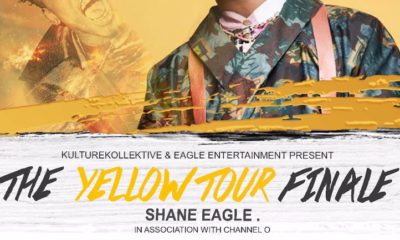 Nasty C to join Shane Eagle on the Yellow Tour's final show