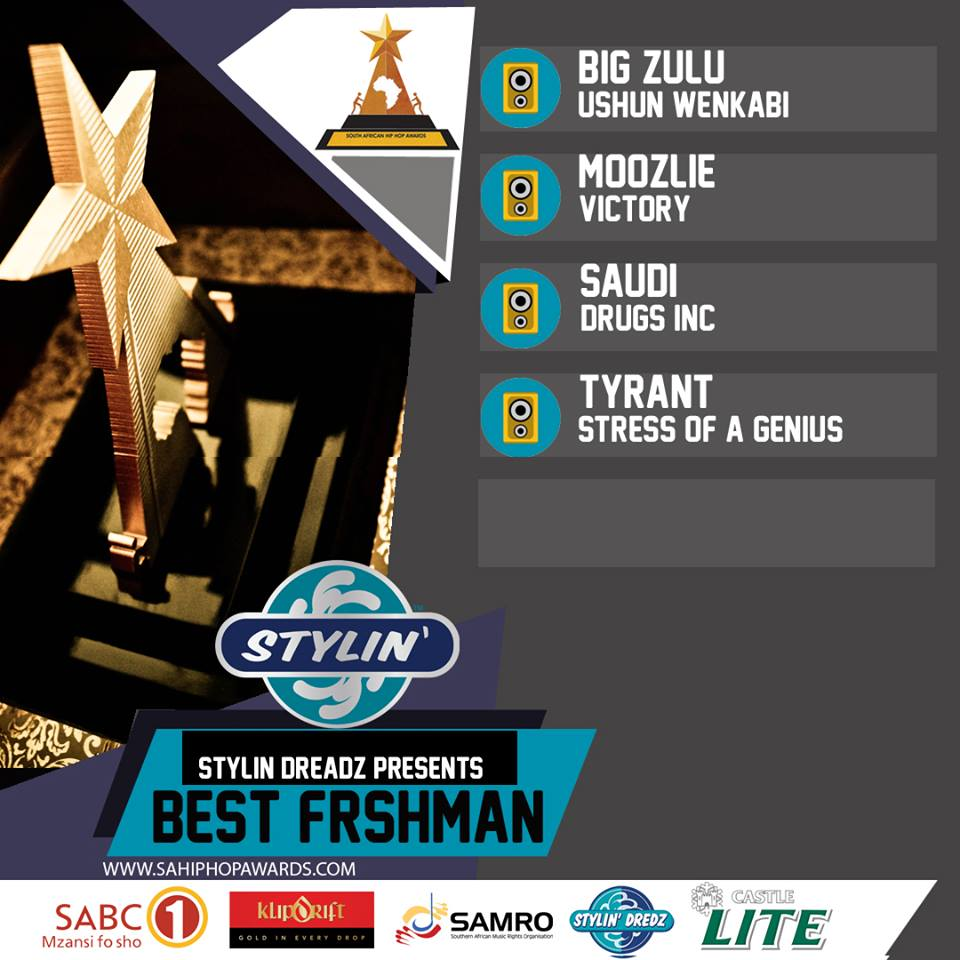 South African Hip-Hop Awards 2018: Moozlie nominated for Freshman of The Year