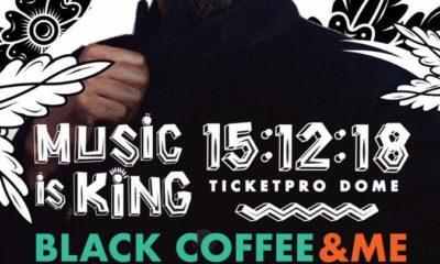 Swizz Beatz added to Black Coffee's Music Is King Concert line-up