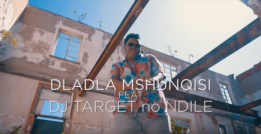 Watch Dladla Mshunqisi's 'Cothoza' music video, featuring DJ Target and Ndile