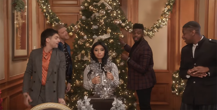 Pentatonix get a million views for 'Rockin' Around The Christmas Tree' video | JustNje