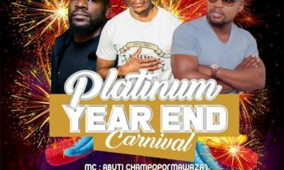 Jimmy Drumz to perform at Platinum Lounge year- end costume party