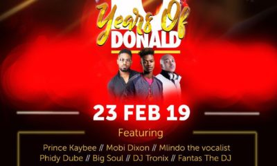 Donald announces additional show and line-up for 10 Years of Donald tour