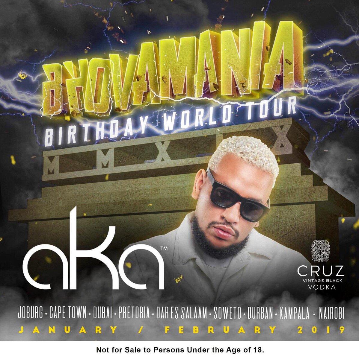 AKA announces Bhovamania World Tour