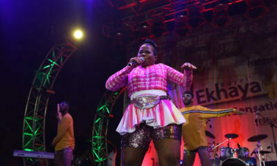 "Busiswa ""humbled"" by Best Female Artist win at Soundcity MVP Festival"