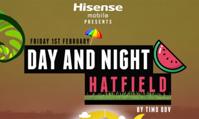 TiMO ODV to perform at Day and Night Hatfield 2019
