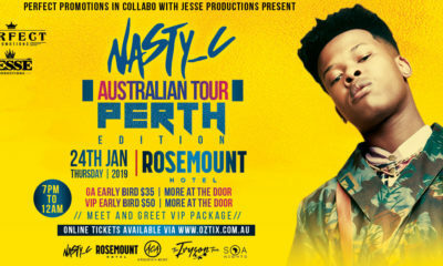 Nasty C takes his Ivyson Tour to Australia