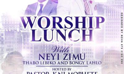 Neyi Zimu to headline Bloemfontein Worship Lunch