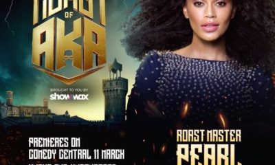 Pearl Thusi makes history as Comedy Central's first female Roast Master