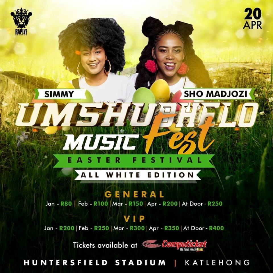 Sho Madjozi and Simmy join Umshubhelo Fest line-up