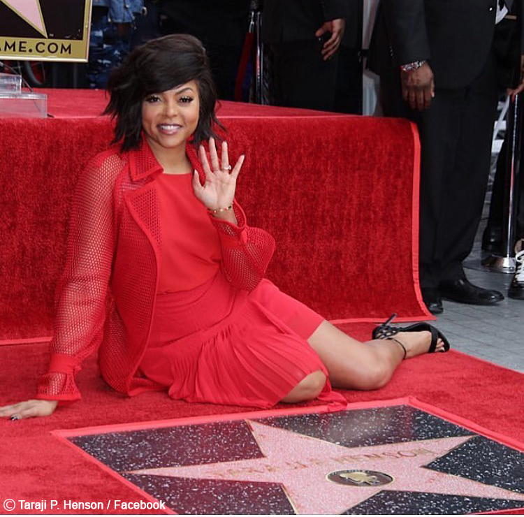 Taraji P. Henson honoured with star on Hollywood Walk-Of-Fame