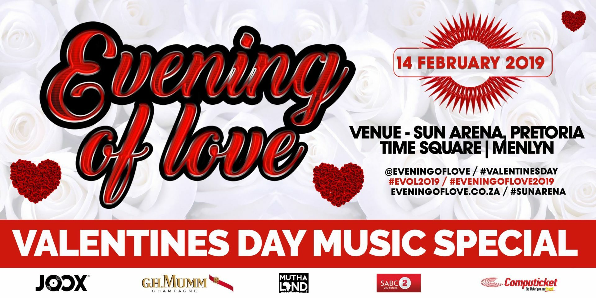 Fans can help pick the set-list for Vusi Nova's 'Evening of Love'