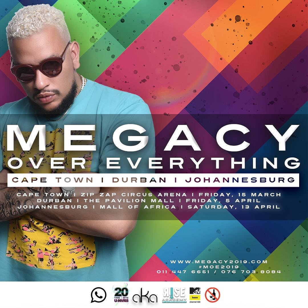 AKA continues to promote Megacy Over Everything Tour