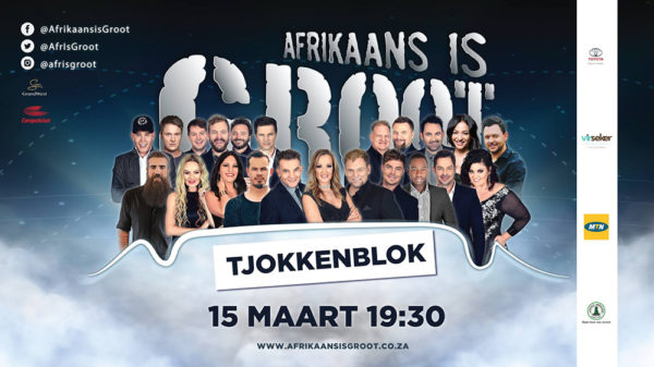 Afrikaans is Groot is coming to Cape Town