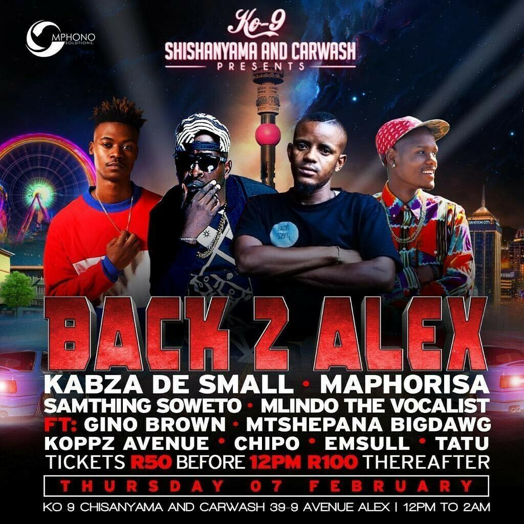 DJ Maphorisa to perform at Back 2 Alex event