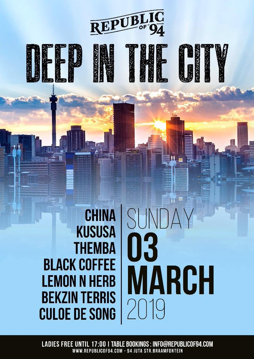 Black Coffee to perform at Deep In The City