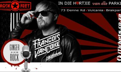 Francois van Coke to headline Rock Fest 2019