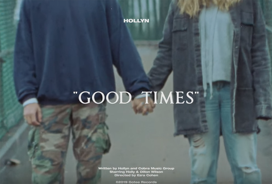 Watch Hollyn's Good Times music video Holly Marie Wilson