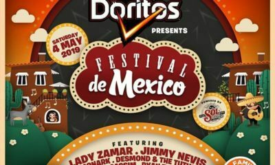 Lady Zamar and Jimmy Nevis to headline the Festival de Mexico
